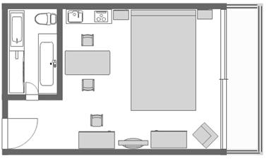 ホワイトサンズホテル日本事務所-シティビュー